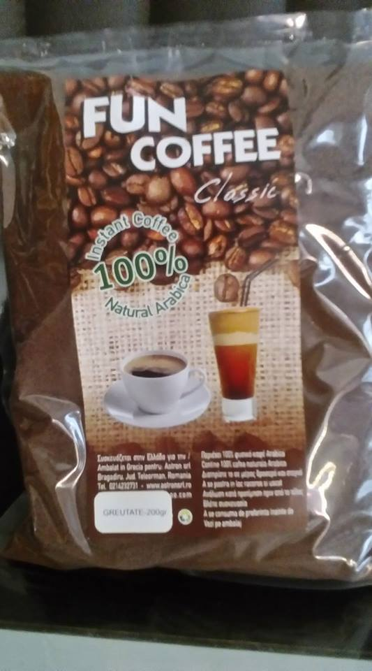 INSTANT COFFEE-FUN COFFEE-200 gr.