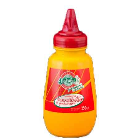 Hot mustard-250gr-Paltsidis
